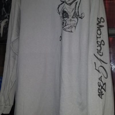 Area 51 Customs Long Sleeve Shirt Grey XXXL – Area 51 Customs